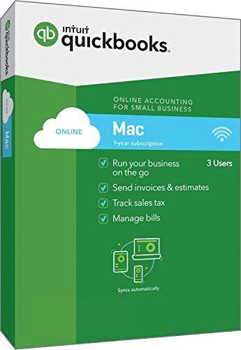 QuickBooks Online for Mac 2018 Small Business Accounting [Mac Disc] [OLD VERSION] by Intuit (B074KPGK87)