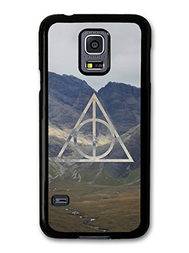 New Deathly Hipster Triangle Magic Mountains with Wizards Cool Design coque pour Samsung Galaxy S5 mini