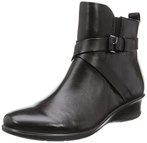 ECCO Women's Felicia Ankle Buckle Boot - Black - 35 M EU ...