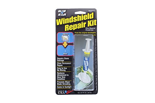 Best windshield repair kits products by rain x windshield repair blue star fix your windshield do it yourself windshield repair kit made in usa solutioingenieria Image collections