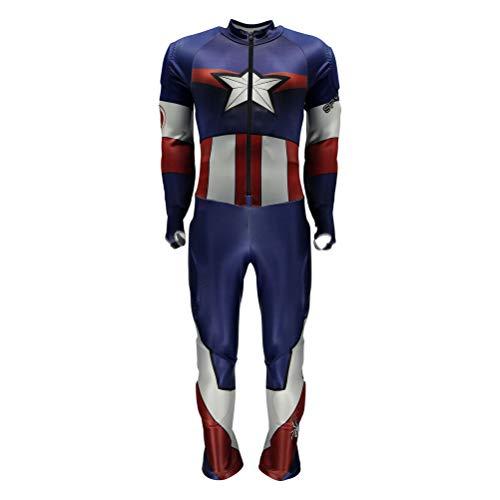 Gs Racing Suit - Spyder Marvel Performance GS Boys Race Suit - 14-16/French Blue-Captain America
