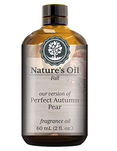 (Perfect Autumn Pear Fragrance Oil (60ml) For Diffusers, Soap Making, Candles, Lotion, Home Scents, Linen Spray, Bath Bombs, Slime)
