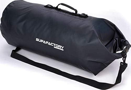 para Motocicletas y ciclomotores Supafactory Bolsa cil/índrica 60 litros Resistente al Agua Impermeable