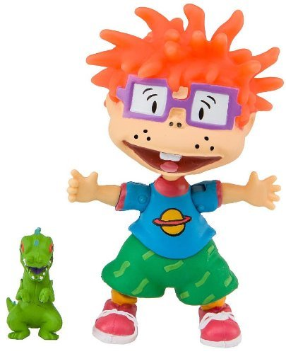 Nicktoons Rugrats 3 Inch Action Figure - Chuckie]()