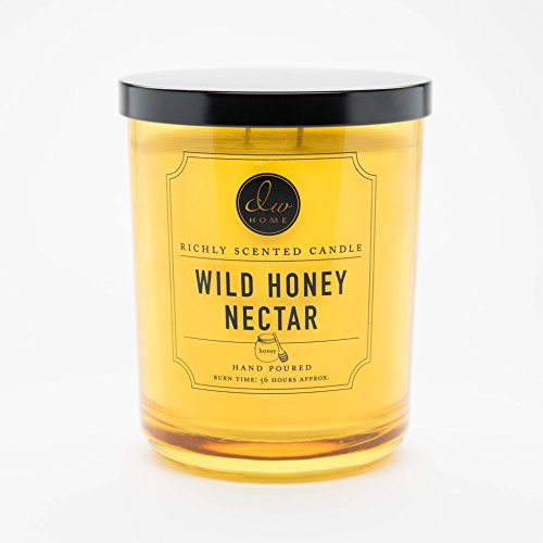 DW Home Large Double Wick Candle, Wild Honey Nectar -