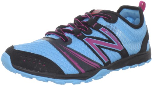 (New Balance KT20 Minimus Grade Trail Running Shoe (Little Kid/Big Kid),Blue/Pink,3.5 M US Big)