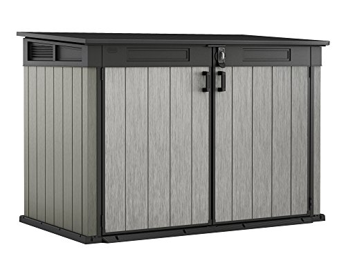 Keter Grande Bin Store Xxl Garden Box Equipment Box Lockable Bin Store For 3 Bins Or Bicycles