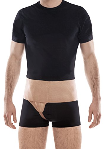 Right Side Support Belt - TOROS-Group Right Side Inguinal Groin Hernia Belt - Right Large Beige