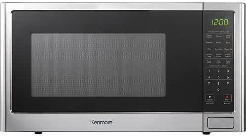 Kenmore 1.2 cu.ft. Microwave Oven - Stainless Steel