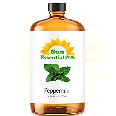 Sun Organic Essential Oil Peppermint , 4 Fl. OZ