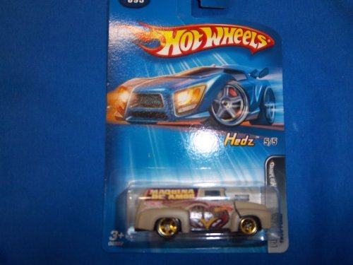 1956 Panel - Hot Wheels 2005 Collector # 095 Pin Hedz 1956 FORD Panel Truck