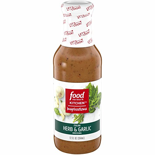 Food Network Kitchen Inspirations Italian Herb and Garlic Dressing, 12 oz