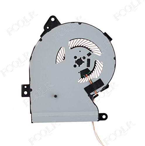 FCQLR Compatible for Delta NS85B01-17F11 5V 0.50A for Asus Series Laptop Cooling Fan 4-Wire