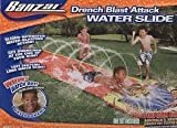 Banzai Drench Blast Attack Water Slide - 16 ft by Banzai