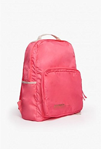 Bensimon - Bolso mochila  para mujer rosa rosa