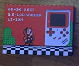 handheld Portable game console GB-20 8BIT 2.5 LCD screen LI-ION bulit in 188 games retro game console with 188 classic games