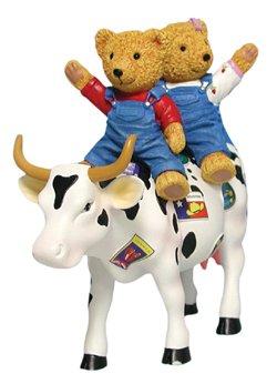 CowParade Teddy Bears on the Moove (Medium) (Teddy Bear Gifts Uk)