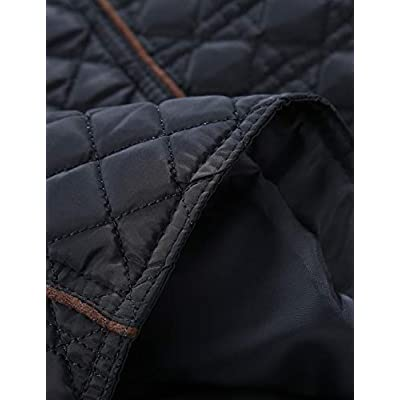 Bellivera Women's Quilted Lightweight Padding Jacket/Vest, Puffer Coat Cotton Filling: Clothing
