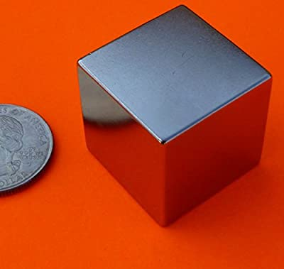 """Applied Magnets"" ® Strong N52 Neodymium Magnet 1 inch Cube"