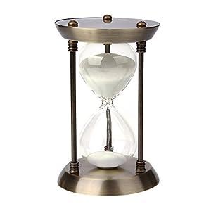 bujingyun Metal/cristal cuarto reloj de arena con 15minutos tiempo 13