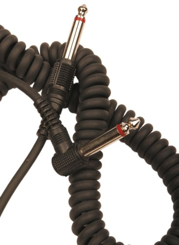- Rotosound Curly Instrument Cable Right Angled Jack