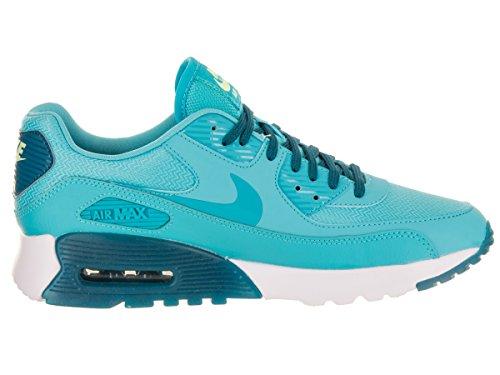Nike Damen W Air Max 90 Ultra Essential Gymnastik, Rot, 41 EU blau (Gamma Blue / Gmm Blue-Grn Abyss)
