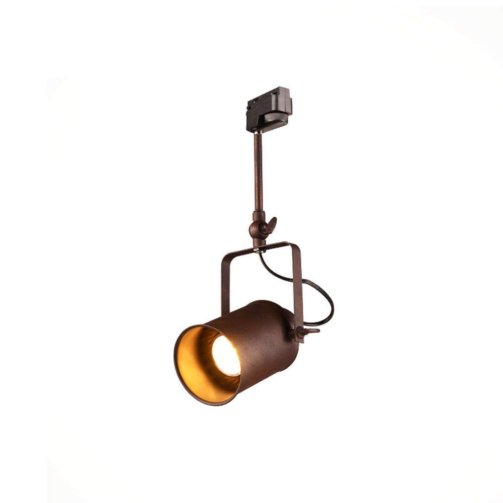 Mei Xu Track Light - Retro Clothing Personality LED Old Ceiling Spotlights Industrial Spotlights - 3 Styles Track Lamp (Color : B)