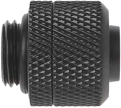 Rarido G1//4 3//8 ID X 1//2 OD 9.5x12.7mm Tubing Hand Compression Fittings Water Cooling Blade Color: Black