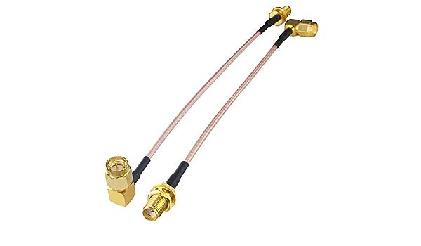 BOOBRIE Cable SMA Cable de Extensión de Antena RF Cable ...
