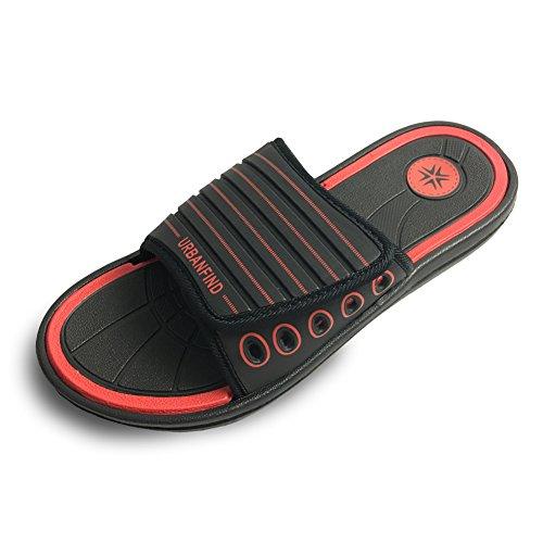 URBANFIND Mens Sandals Casual EVA Slide Slippers Beach Thong Flip Flop Shower Shoes