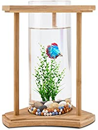 small screenshot 1 office fish. small screenshot 1 office fish desktop tank bamboo unique design bowls with glass vase s