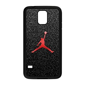 Samsung Galaxy S5 Phone Case Black Jordan logo SF8597434