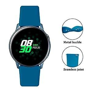 Amazon.com: Correa para reloj Galaxy Active bandas Garmin ...