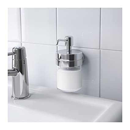 Unbekannt IKEA voxnan – Dispensador de jabón con Soporte; con Efecto Cromado