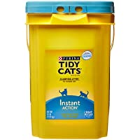 Tidy Cats Purina Instant Action Scoop Pail, 35 lb