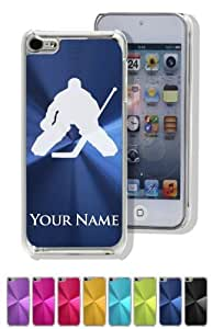 Case/Cover for iPhone 5C - HOCKEY GOALIE - Personalized for FREE (Click the CONTACT SELLER link after purchase and send a message with your case color and engraving request)