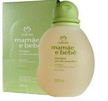 Amazon.com: Linha Mamae Bebe Natura - Shampoo Suave Com Oleo de Passiflora (Flor de Maracuja) 200 Ml - (Natura Mom and Baby Collection - Delicate Shampoo ...