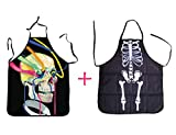 Halloween Scary Aprons; Skeleton; Skull; Joker; Bloody Apron