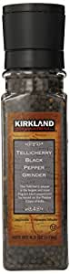 Kirkland Signature Tellicherry Black Pepper Grinder, 6.3 Ounce