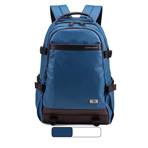 Da Viaggio Zaino Casual Studenti Viaggi Blue Borsa Red Zebuakuade A Impermeabile Per Tracolla Laptop color Grandi zw18aq