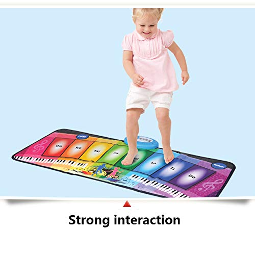 Children's Electronic Piano Mat, Electronic Music Game Pad Music Crawling Blanket Support Multi-Person Use by Eustoma (Image #8)