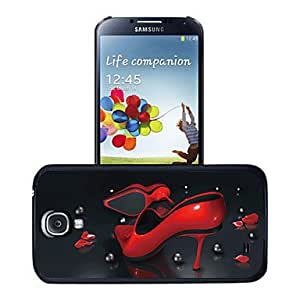 LHY Samsung S4 I9500 compatible Solid Color Plastic Back Cover