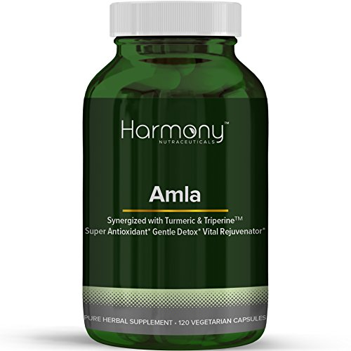 Ayurvedic Herbal Remedies - Amla Synergized with Turmeric & Triperine Ayurvedic Herbal Remedy 120 Capsules