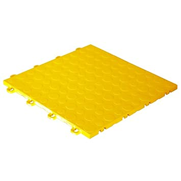 modutile garage floor tiles 30 pack coin yellow