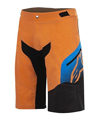 Alpinestars Predator Shorts, Bright Orange/Bright Blue, Size (34)