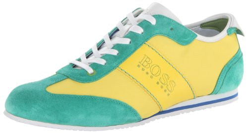 BOSS Green by Hugo Boss Men's Light Ness Walking Shoe,Yellow,8 M US