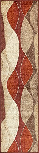 (Modern Area Rug (Multi - 2' 6'' x 10'-Feet Runner) Giza Collection Home Floor Décor Rugs - Living, Dinning, Office, Rooms & Bedrrom, Hallway Carpet)
