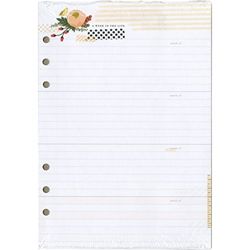 Color Crush A5 Personal Planner Inserts-Memory Keeping