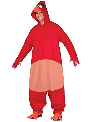 Rubie's Costume Co. Men's Angry Birds Movie, Red Costume, As As Shown, (Angry Birds Red Bird Dress Costume)