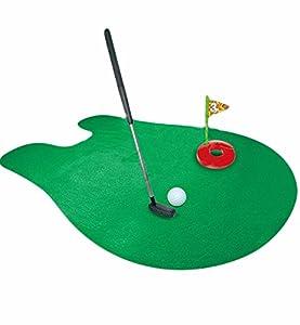 Ailiebhaus Toiletten WC Golf Set Golfschläger